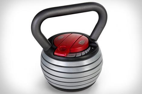 Power Bell, omstälningsbar kettlebell