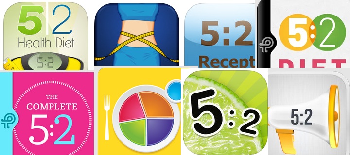 5 2 diet kaloritabell